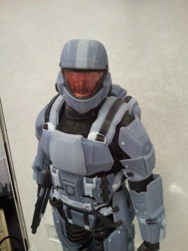 Halo Closeup